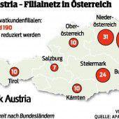 Bank Austria schließt 80 Filialen: Gibt kein Köpfeziel, sagt der Chef
