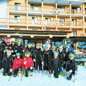 Trainingskurs der VSV-Schüler in Oberlech