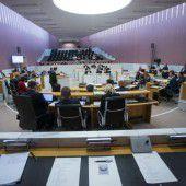 Heftige Debatte im Landtag
