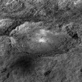 Raumsonde Dawn fotografierte Nebel auf Zwergplanet Ceres