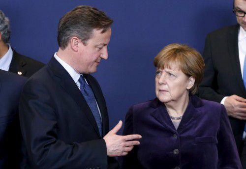 Merkel ließ Cameron wissen, dass die wichtigsten EU-Prinzipien gewahrt werden müssten.