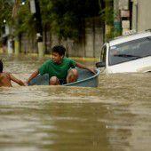 Neuer Tropensturm steuert auf die Philippinen zu