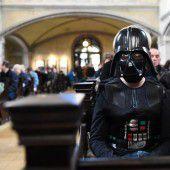 Darth Vader in der Kirche