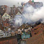 Flammeninferno in der Altstadt
