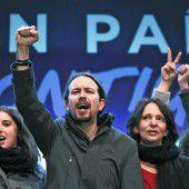 In Spanien jubeln jetzt die jungen Linken