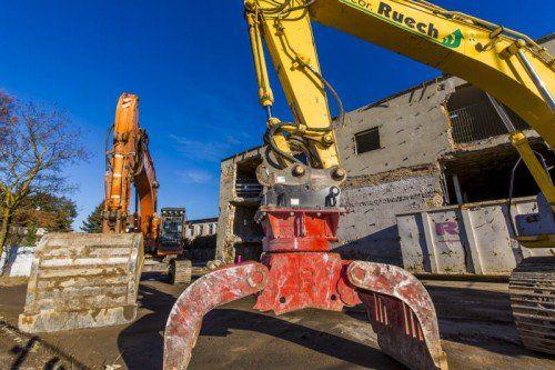 Heuer entsteht auf dem ehemaligen Rupp-Areal in Lochau ein Wohnquartier.Das Projekt sieht 206 Eigentumswohnungen vor.