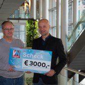 3000 Euro Spende für Ma hilft