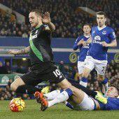 Traumlauf von Marko Arnautovic mit Stoke City geht weiter – Tor zum 4:3-Sieg bei Everton
