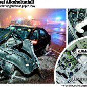 Ein Beifahrer im Pkw hätte das vermutlich nicht überlebt