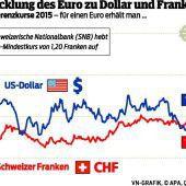 Viele Erdbeben an den Währungsmärkten