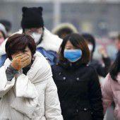 Erneut höchste Smog-Alarmstufe in Peking
