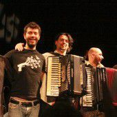 Mediterran-balkaneses Musikerlebnis
