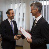 Ein neuer Chef im Hohenemser Rathaus
