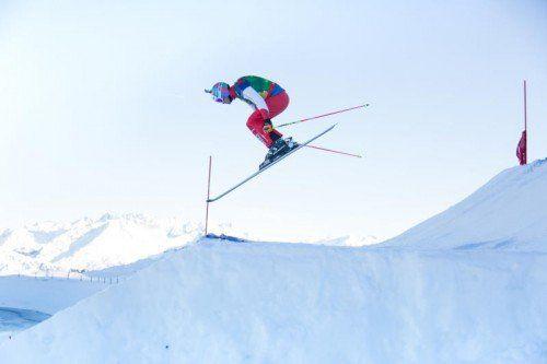 Heute um elf Uhr starten die Qualifikationsbewerbe des Skicross-Weltcups am Hochjoch in Schruns.