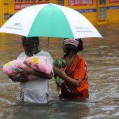 Schwere  Überflutungen