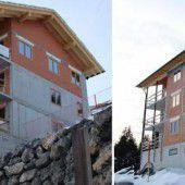 Walser bauen Appartements für Tourismus