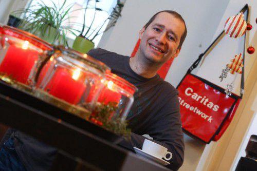 In der Weihnachtszeit ist Peter Wieser ganz besonders gefordert. Denn für seine Klienten ist das eine kritische Zeit.