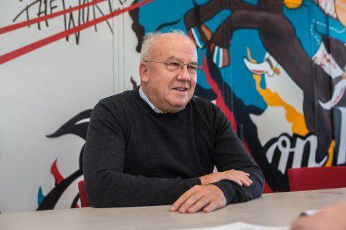 Jürgen Weiss war Minister für Föderalismus und Verwaltungsreform.Steurer