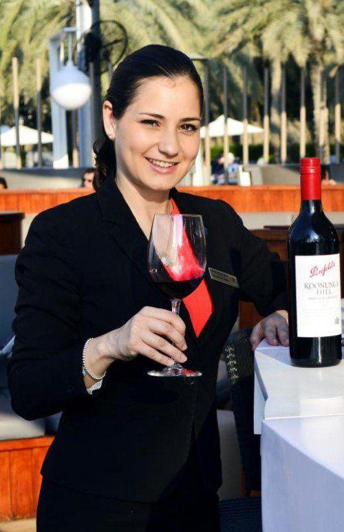 Julia Bitschnau ist für insgesamt neun Restaurants, Cafés und Bars verantwortlich und leitet 85 Mitarbeiter.