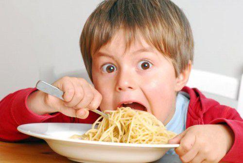 Auch bei den von Kindern heiß geliebten Nudeln ist allzu viel ungesund.adobe stock