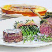 Filetsteak und Lammkarree