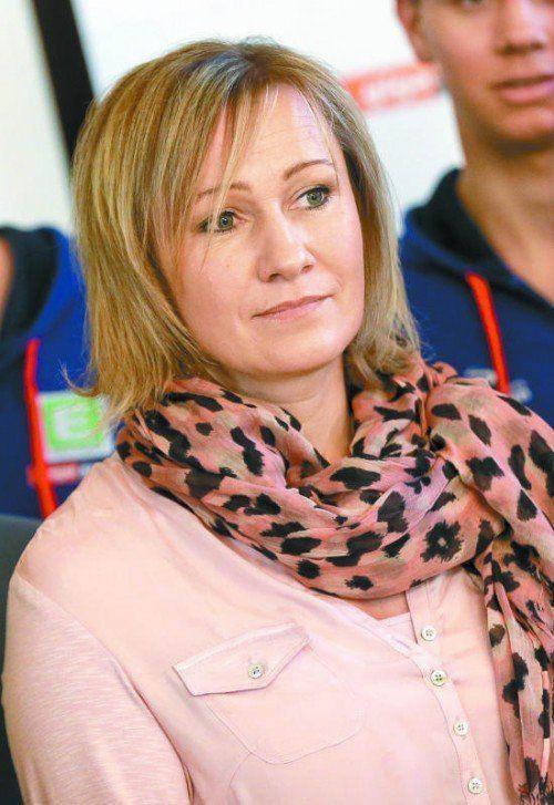 Konkurrenz im eigenen Lager ist wichtig: Renate Götschl.