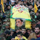 Trauer um toten Kommandeur der Hisbollah