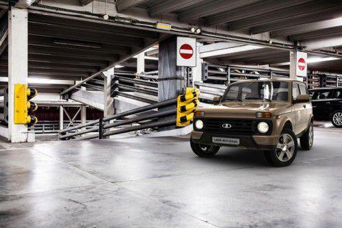 Lada bietet den 4x4 als Urban jetzt auch in einer modischeren Version an.