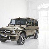 Neues Zubehörprogramm für die Mercedes G-Klasse