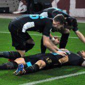 Dreifacher Giroud rettet Arsenal