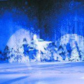 Märchenhafter Zirkus auf dem Eis
