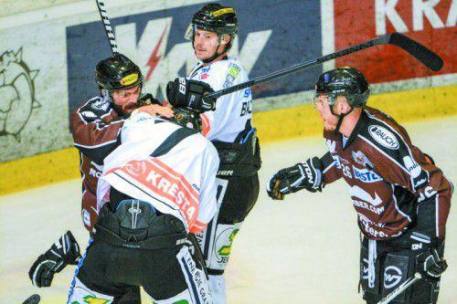 Niki Petrik macht es vor: Eine Portion Aggressivität wird heute gegen Graz nicht schaden.