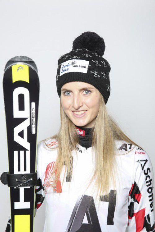 Nina Ortlieb geht mit Nummer 41 ins Rennen.