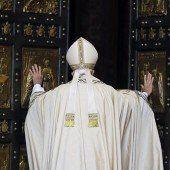 Papst Franziskus hat das Heilige Jahr eröffnet