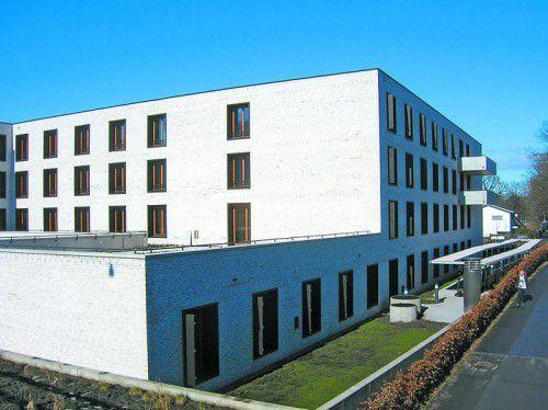 Pflegeheim Birkenwiese: Platz für die Krankenpflegeschule.