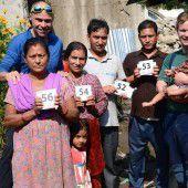 Winter verstärkt Not der Nepalesen
