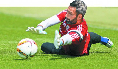 Ramazan Özcan ist bereits seit vier Jahren ein sicherer Rückhalt beim deutschen Bundesligaklub FC Ingolstadt 04.