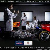 Red Bull mit Renault und Ilmor