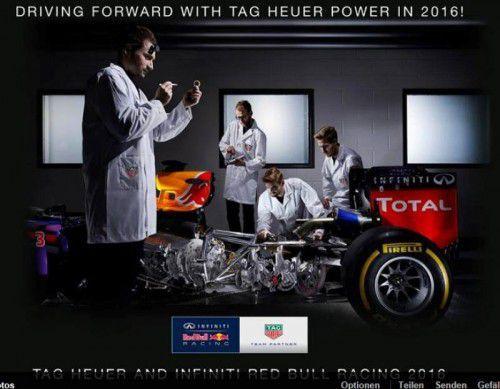 """Red Bull hat das """"Missing Link"""" für den Rennwagen 2016 gefunden: Renault und Ilmor bauen den Motor."""