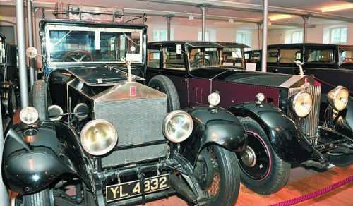 Rolls-Museum ist längst zum Mekka der Oldtimer-Fans geworden.