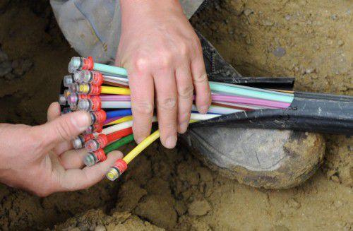 Breitband-Internet soll es auch in den ländlichen Gegenden geben. Derzeit wirddas Großwalsertal mit hochwertiger digitaler Infrastruktur versorgt. dpa