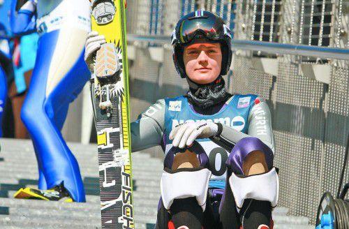 Saison ist wohl zu Ende: Skispringerin Ulrike Gräßler .