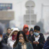 In Peking erstmals Smog-Alarmstufe Rot
