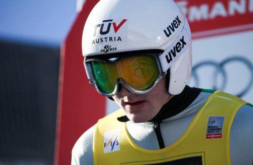 Sepp Schneider verpatzte die Qualifikation.