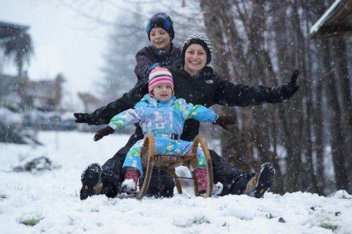 Sicheres Vorarlberg lädt zum vorweihnachtlichen Rodelkurs.