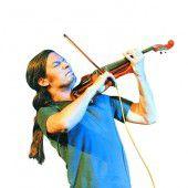 Gegensätze der Musik in der Geige vereint