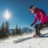 Die Schneelage schreckt Urlauber noch nicht ab