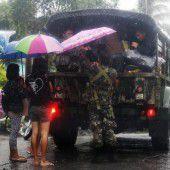 Philippiner fürchten Tropensturm Melor