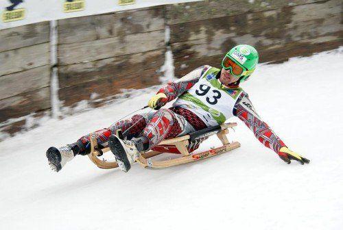 Sportrodler Andreas Cäsar holte im Austria Cup der Herren einen Sieg und Rang drei.