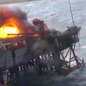 Acht Todesopfer nach Brand auf Ölplattform